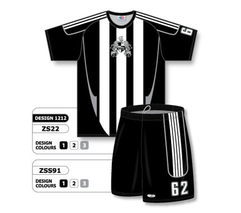 Custom Sublimated Soccer Uniform Set Design 1212