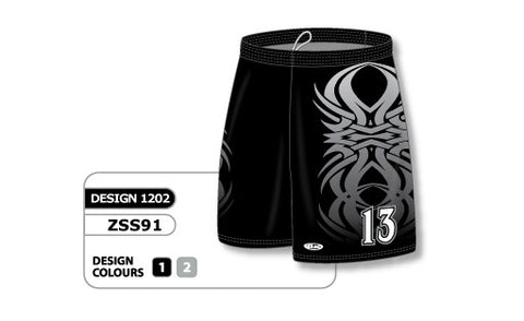 Custom Sublimated Soccer Short Design 1202