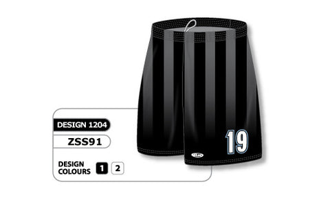 Custom Sublimated Soccer Short Design 1204