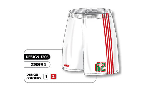 Custom Sublimated Soccer Short Design 1205