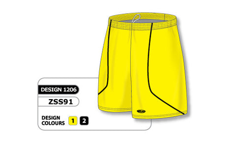Custom Sublimated Soccer Short Design 1206