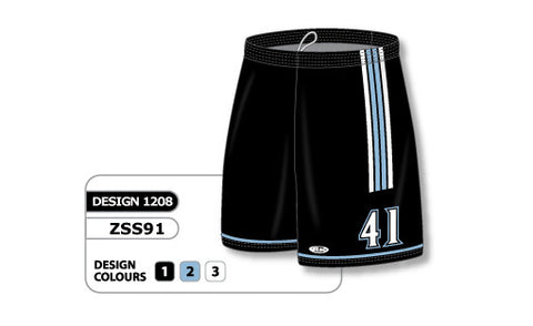 Custom Sublimated Soccer Short Design 1208