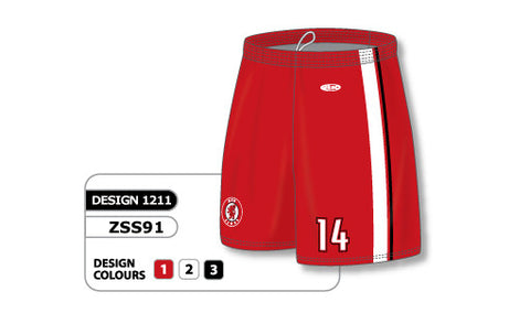 Custom Sublimated Soccer Short Design 1211