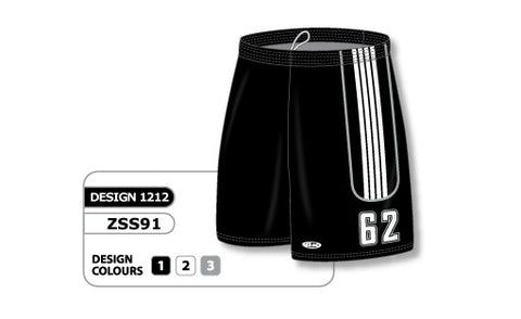 Custom Sublimated Soccer Short Design 1212