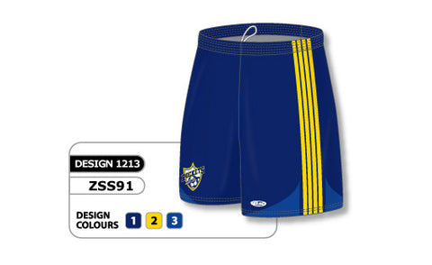 Custom Sublimated Soccer Short Design 1213