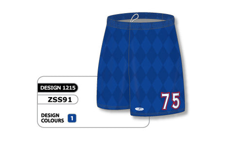 Custom Sublimated Soccer Short Design 1215