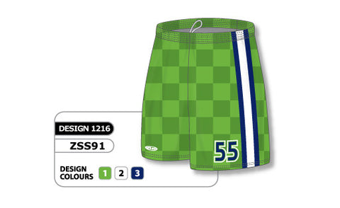 Custom Sublimated Soccer Short Design 1216