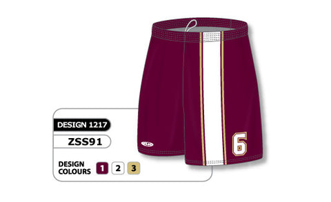 Custom Sublimated Soccer Short Design 1217