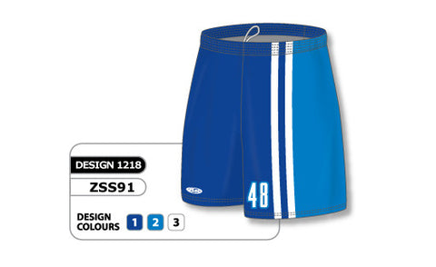 Custom Sublimated Soccer Short Design 1218