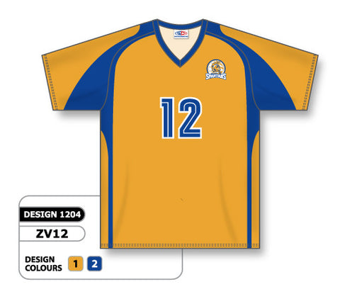 ZV12-1204 Custom Sublimated V-Neck Volleyball Jersey