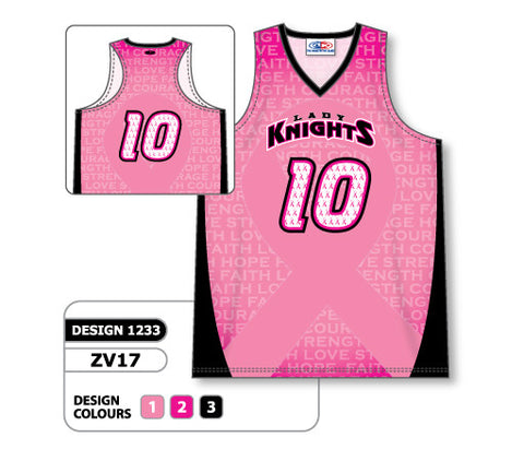 ZV17-1233 Custom Sublimated Ladies Racer Back Volleyball Jersey