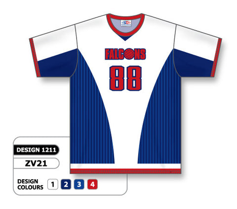 ZV21-1211 Custom Sublimated Crew Neck Volleyball Jersey