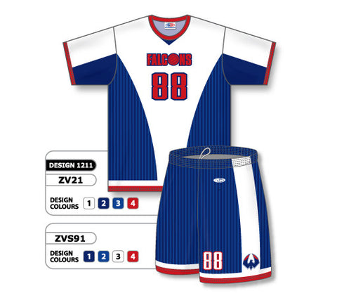 ZV21S-1211 Custom Sublimated Crew Neck Volleyball Jersey