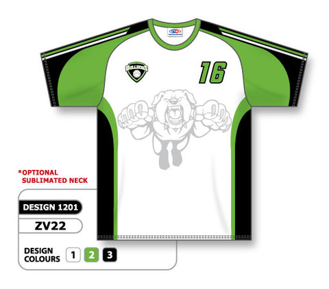 ZV22-1201 Custom Sublimated Crew Neck Volleyball Jersey