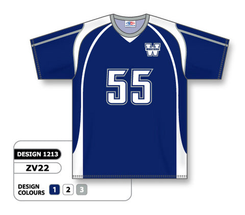 ZV22-1213 Custom Sublimated Crew Neck Volleyball Jersey
