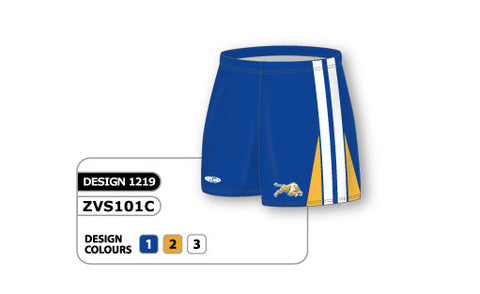 ZVS101-1219 Custom Sublimated Ladies Volleyball Short