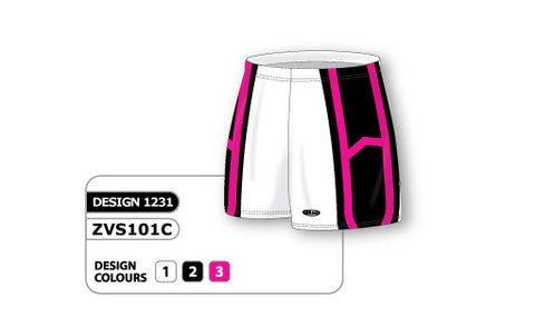 ZVS101-1231 Custom Sublimated Ladies Volleyball Short