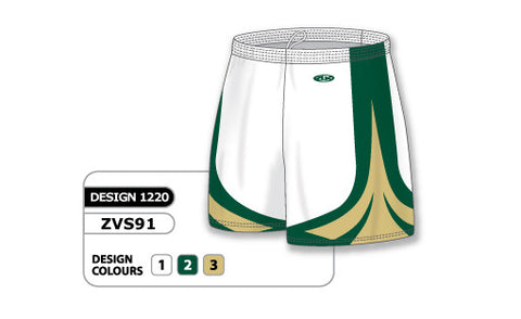 ZVS91-1220 Custom Sublimated Ladies Volleyball Short