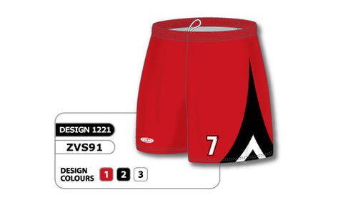 ZVS91-1221 Custom Sublimated Ladies Volleyball Short