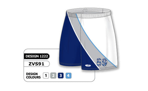 ZVS91-1222 Custom Sublimated Ladies Volleyball Short
