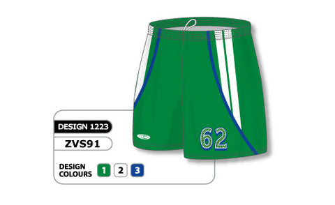 ZVS91-1223 Custom Sublimated Ladies Volleyball Short