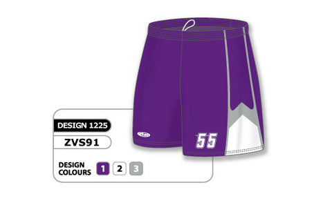 ZVS91-1225 Custom Sublimated Ladies Volleyball Short