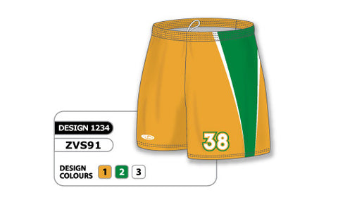 ZVS91-1234 Custom Sublimated Ladies Volleyball Short