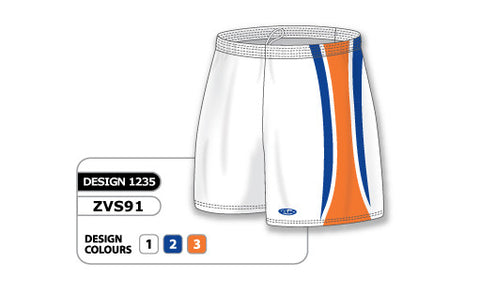 ZVS91-1235 Custom Sublimated Ladies Volleyball Short