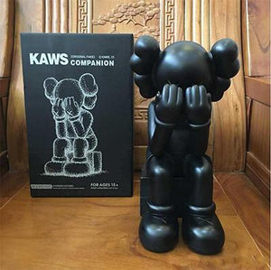 New Passing Through KAWS Open Edition Vinyl Figure in 4 different colours with original box KAWS' Passing Through Statues have been displayed all over the world, including galleries in Hong Kong, Fort Worth, and Philadelphia. Cop one of these today to bring the world-famous companion to your living room.