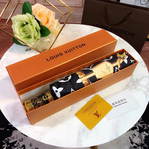 Louis Vuitton Umbrella Full Set -LIMITED EDITION Brand new limited edition full set LV umbrella with sleeve and Louis Vuitton gift box Legendary Louis Vuitton Monogram all over the umbrella Compact and collapsible Push button automatic open system