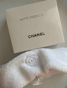 Chanel headband VIP gift in black/white/pink