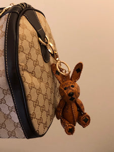 MCM Visetos Zoo Rabbit Keychain / Bag-charm