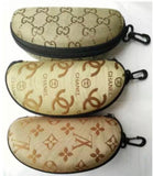 Stylish Chanel / Gucci Monogram durable EVA hard case for Sunglasses and Eyeglasses