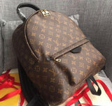 mini canvas bagpack LV fake buy