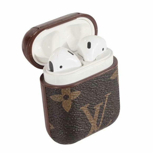 LV damier airpod case leather