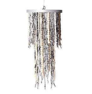 2 tiered chandelier. african lighting. african queen lighting