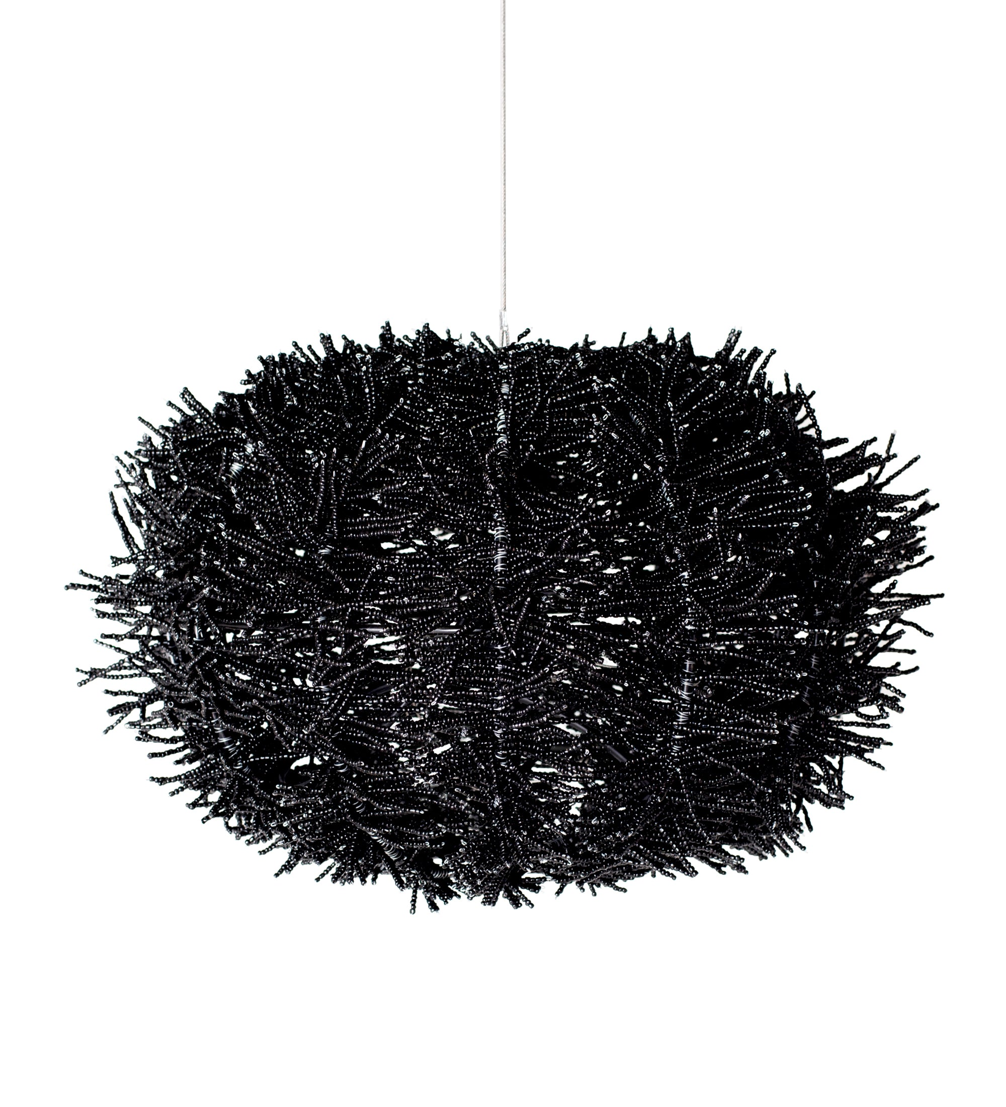 black anemone pendant chandelier. great for mood lighting