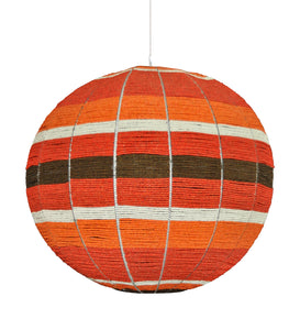 modern sphere pendant light in colour combination of interior design choice