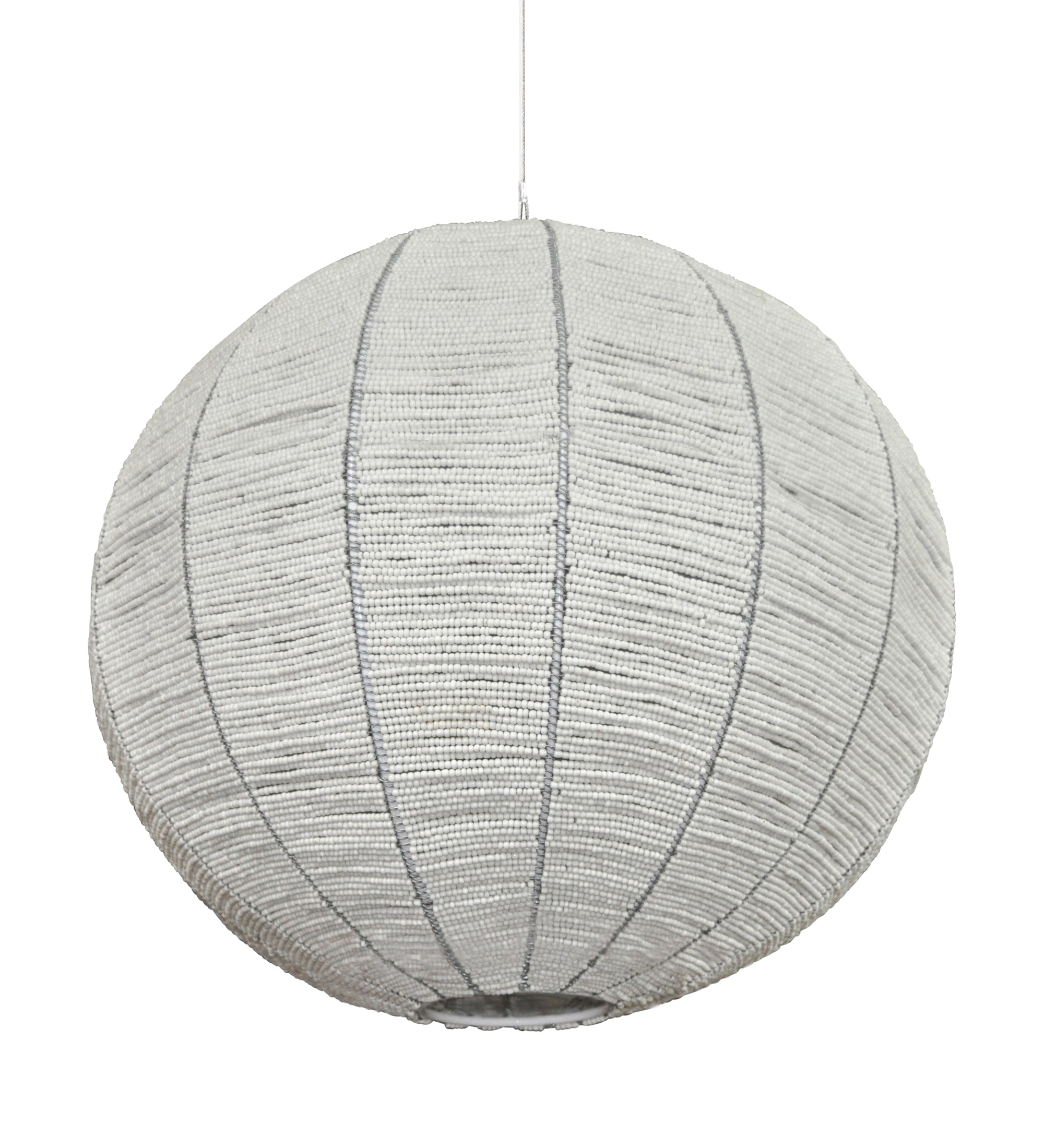 single colour pendant light for simplicity in interior design