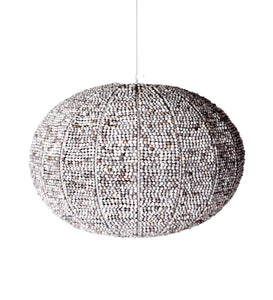 Zulu beerpot pendant light. African lights. Lodge lighting.