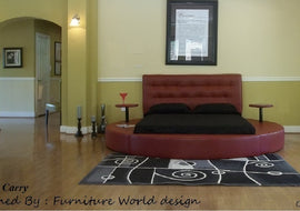 Cary Round Bed available in Full Size and Queen Size and King Size