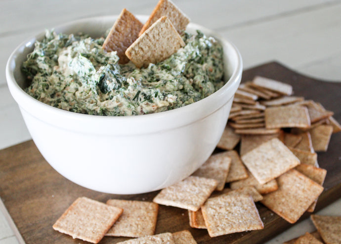 5 Minute Spinach Dip