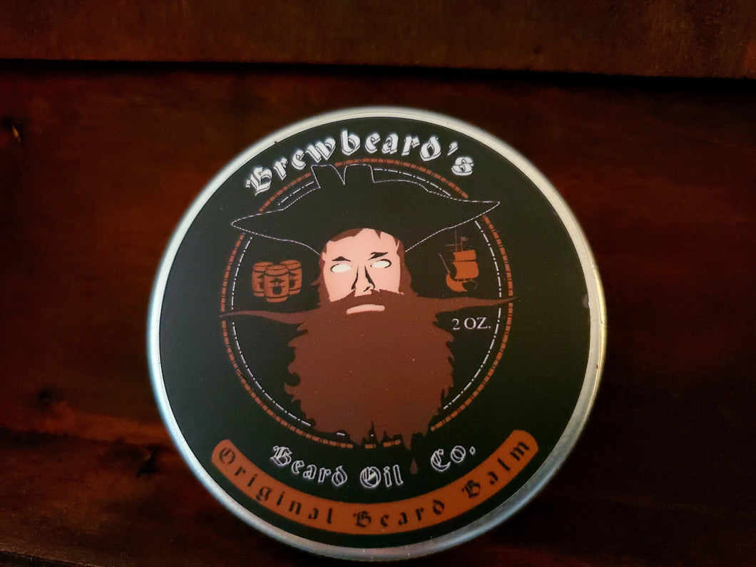 Brewbeard's Beer Infused Beard Balm