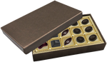 Deco Bronze or Red Rectangle Box  Assortment 15 Piece @