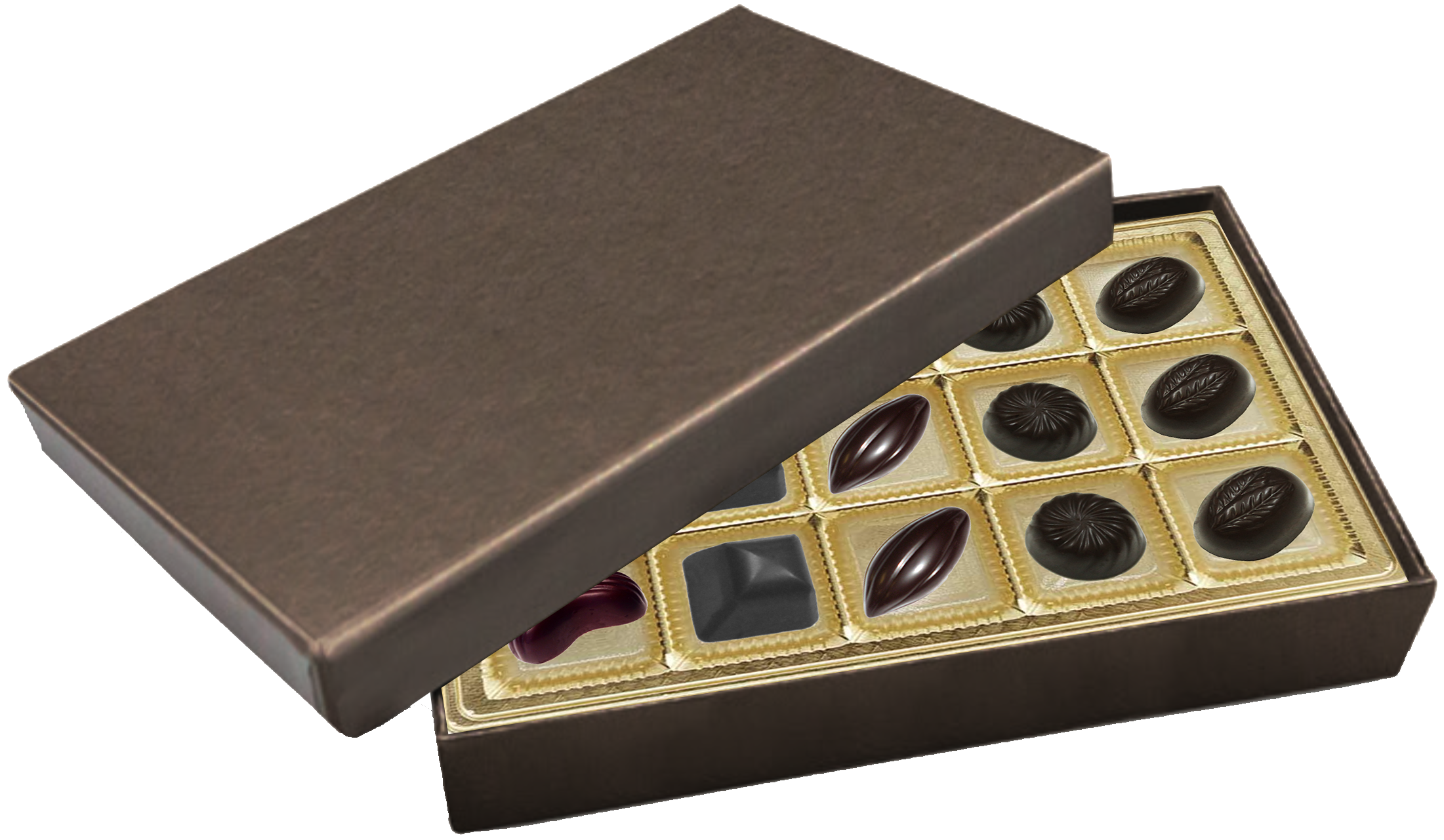 Deco Bronze Rectangle Box Assortment 15 Piece @