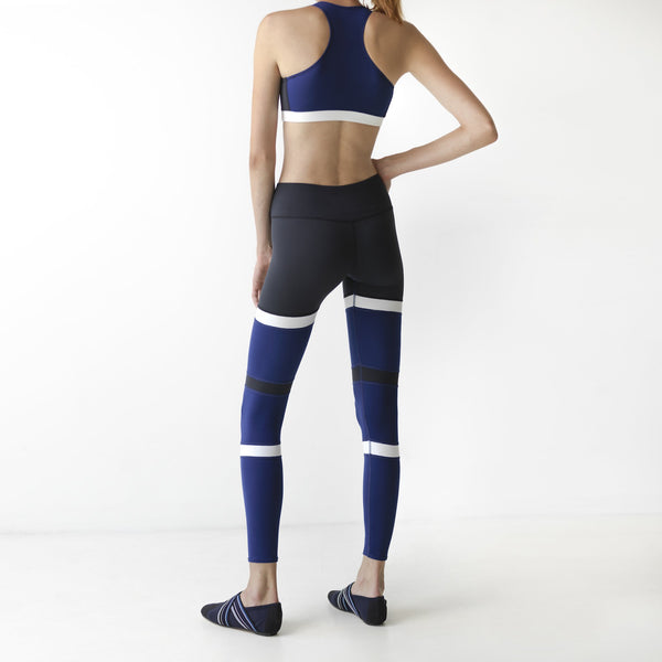 Blue Beam Leggings - IAM VIBES
