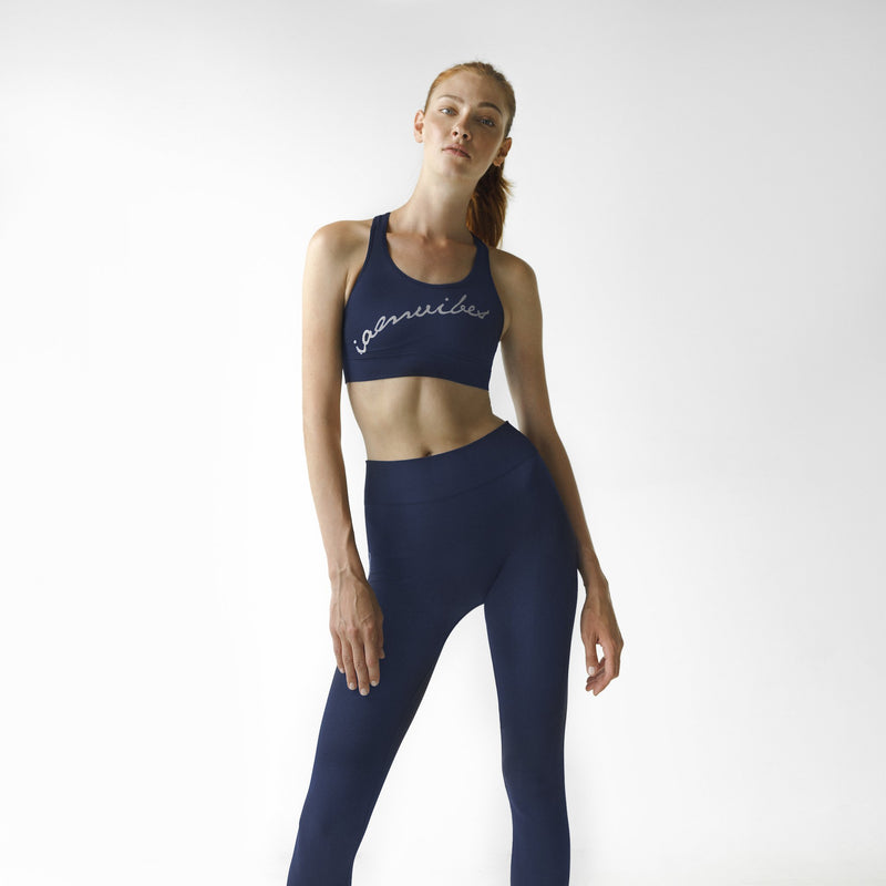 Blue California Bra Top - IAM VIBES