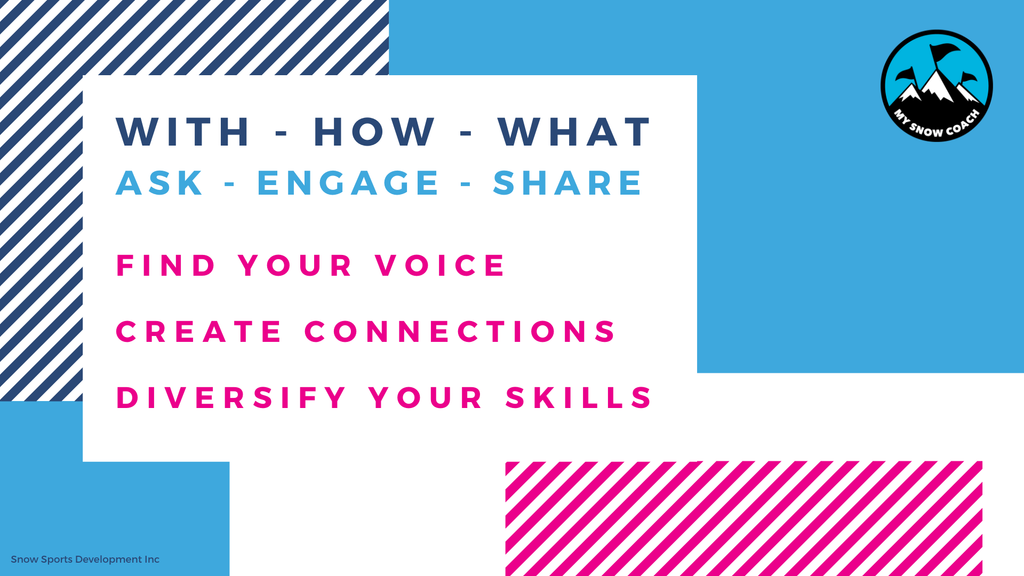 ASK - SHARE - ENGAGE