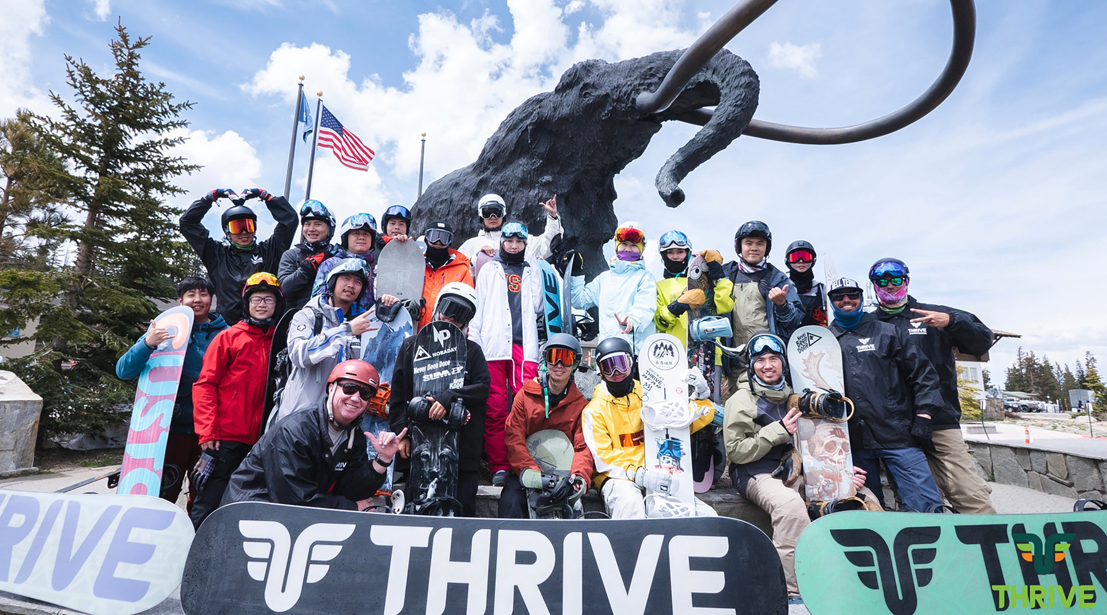 THRIVE CAMP at Mammoth Mountain