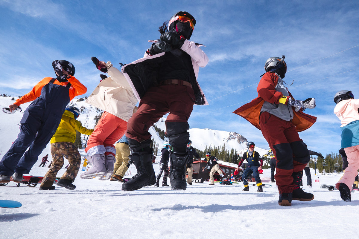 Riders Camps at Mammoth Mountain